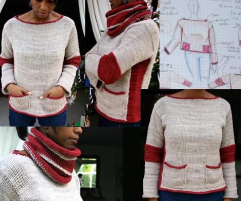 Gakusei - my 'student' jumper
