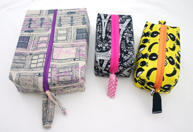 Sewing Project Bags