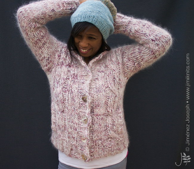 compost jacket by jimiknits