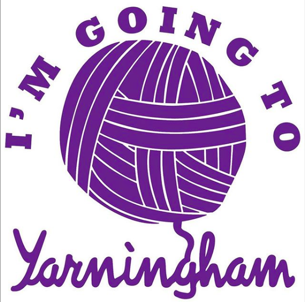 I'm going to Yarningham badge